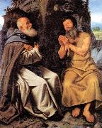 St Anthony Abbot and St Paul, SAVOLDO, Giovanni Girolamo
