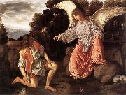 Tobias and the Angel sf, SAVOLDO, Giovanni Girolamo
