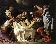 SCHEDONI, Bartolomeo The Deposition  R oil painting on canvas