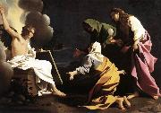 SCHEDONI, Bartolomeo The Two Marys at the Tomb SG oil painting on canvas