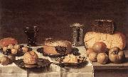 SCHOOTEN, Floris Gerritsz. van Breakfast WR oil painting on canvas