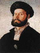 SCOREL, Jan van Portrait of a Venetian Man af oil painting