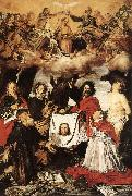 Coronation of the Virgin with Saints  a