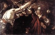 SERODINE, Giovanni Parting of Sts Peter and Paul Led to Martyrdom set oil painting