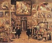TENIERS, David the Younger Archduke Leopold Wilhelm in his Gallery fyjg oil painting artist