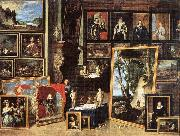 TENIERS, David the Younger The Gallery of Archduke Leopold in Brussels xgh oil painting artist