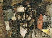 Juan Gris The head of man oil painting
