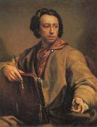 Anton Raffael Mengs Self Portrait oil painting reproduction