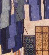 Bihzad Details from Caliph al Ma mun in his bath oil painting