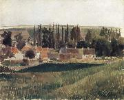 Camille Pissarro Landscape at Osny oil painting
