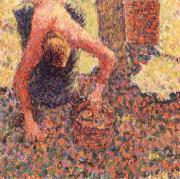 Apple picking at Eraguy-Epte, Camille Pissarro