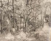 Wooded landscape at L-Hermitage,Pontoise