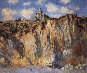 The Church at Varengeville,Morning Effect, Claude Monet