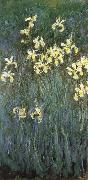 Yellow Irises, Claude Monet