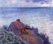 The Coustom s House, Claude Monet
