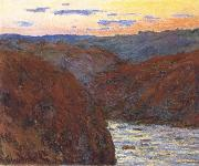 The Creuse,Sunset, Claude Monet