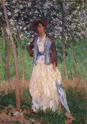 Taking a Walk, Claude Monet