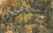 The Foothridge over the Water-Lily Pond, Claude Monet