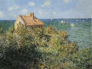 The Fisherman s House at Varengeville, Claude Monet