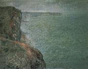 The Sea Seen from the Cliffs, Claude Monet