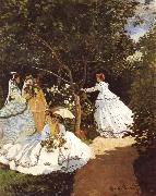 Femmes au jardin Women in the Garden Frauen im Gaten, Claude Monet