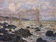 Fishing Nets at Pouruille, Claude Monet
