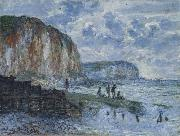 The Cliffs of Les Petites-Dalles, Claude Monet