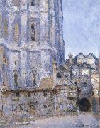 The Cour d Albane, Claude Monet