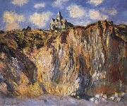 The Church at Varengville,Morning Effect, Claude Monet