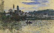The Seine at Vetheuil, Claude Monet