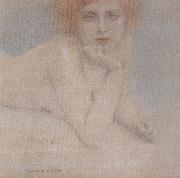 Fernand Khnopff Nude Study oil painting reproduction