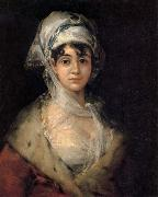 Portrait of Antonia Zarate, Francisco Jose de Goya