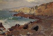 Untitled Coastal Seascape