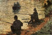 Georges Seurat Fisherman oil painting reproduction