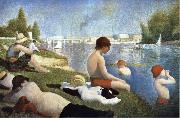 Georges Seurat Bathers of Asnieres