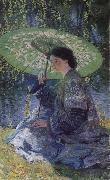 The Green Parasol, Guy Rose