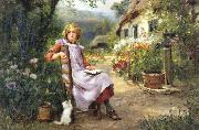 Henry John Yeend King In the Garden oil painting