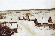 Village,Winter