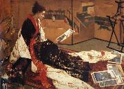 Caprice in Purple and Gold, James Abbot McNeill Whistler