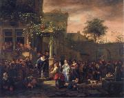 Jan Steen The Village Wedding oil painting reproduction