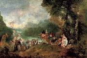 Pilgrimage to the island of cythera, Jean-Antoine Watteau