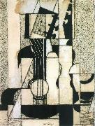 Juan Gris The still lief having guitar oil painting