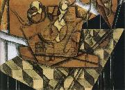 Juan Gris A cup of tea oil painting on canvas
