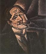 Juan Gris Portrait oil painting reproduction
