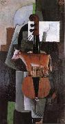 Cow and fiddle, Kasimir Malevich