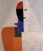 Half-length of Female, Kasimir Malevich