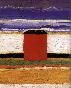 Red House, Kasimir Malevich