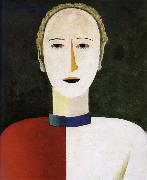 Head of female, Kasimir Malevich