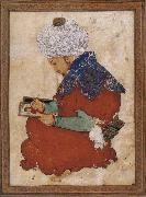 Muslim artist An idealized portrait of Bihzad oil painting reproduction