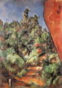 Bibemus Le Rocher Rouge, Paul Cezanne